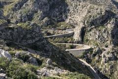 Near the top of Sa Callobra