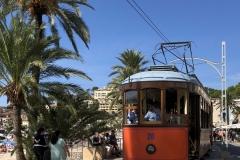 Tram at  Port de Soller